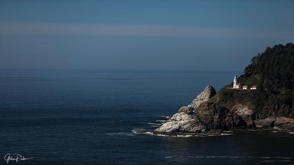 Heceda Head Lighthouse