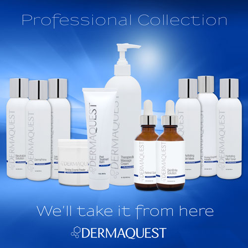 SKINBRIGHT PEEL - Don't be left in the dark, our SkinBrite Peel evens skin tone and brightens for a luminous you.