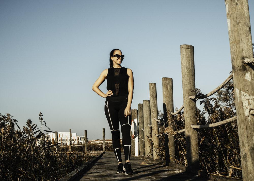 Top  Puma x Kenza  / Pants Puma / Shoes Nike