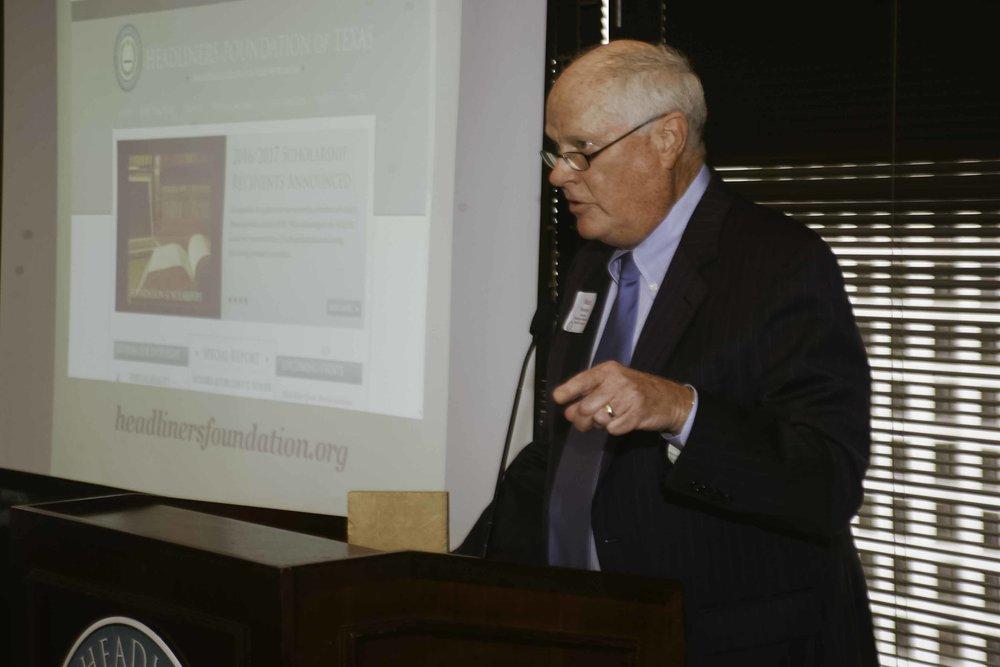 Foundation Board Chair Mark Morrison