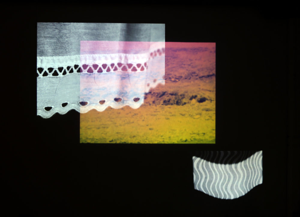 Cliff Walk, 2017  Multichannel video and sound installation, super 8mm film transferred to video, SD video Dimensions vary with installation