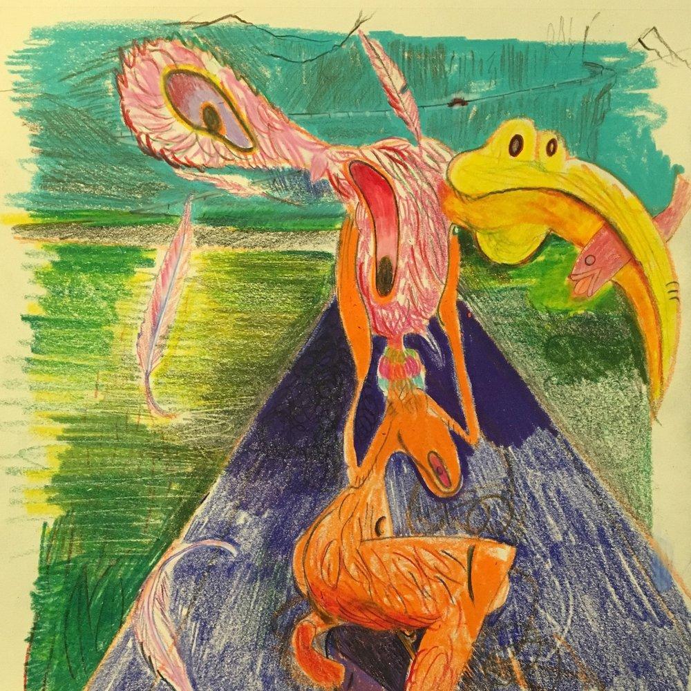 Orange Bird -