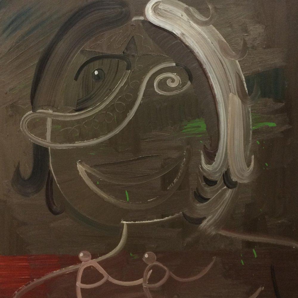 Woman Smiling -