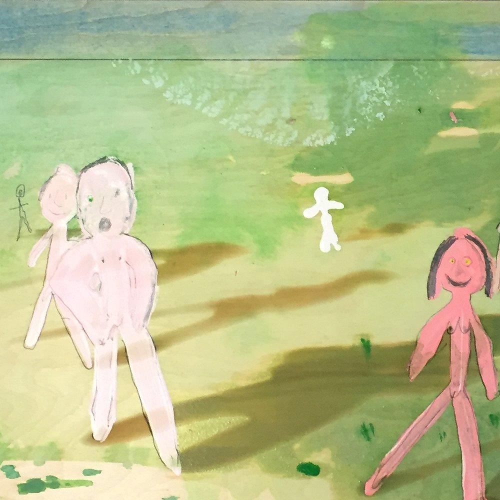 Nudes in Field -
