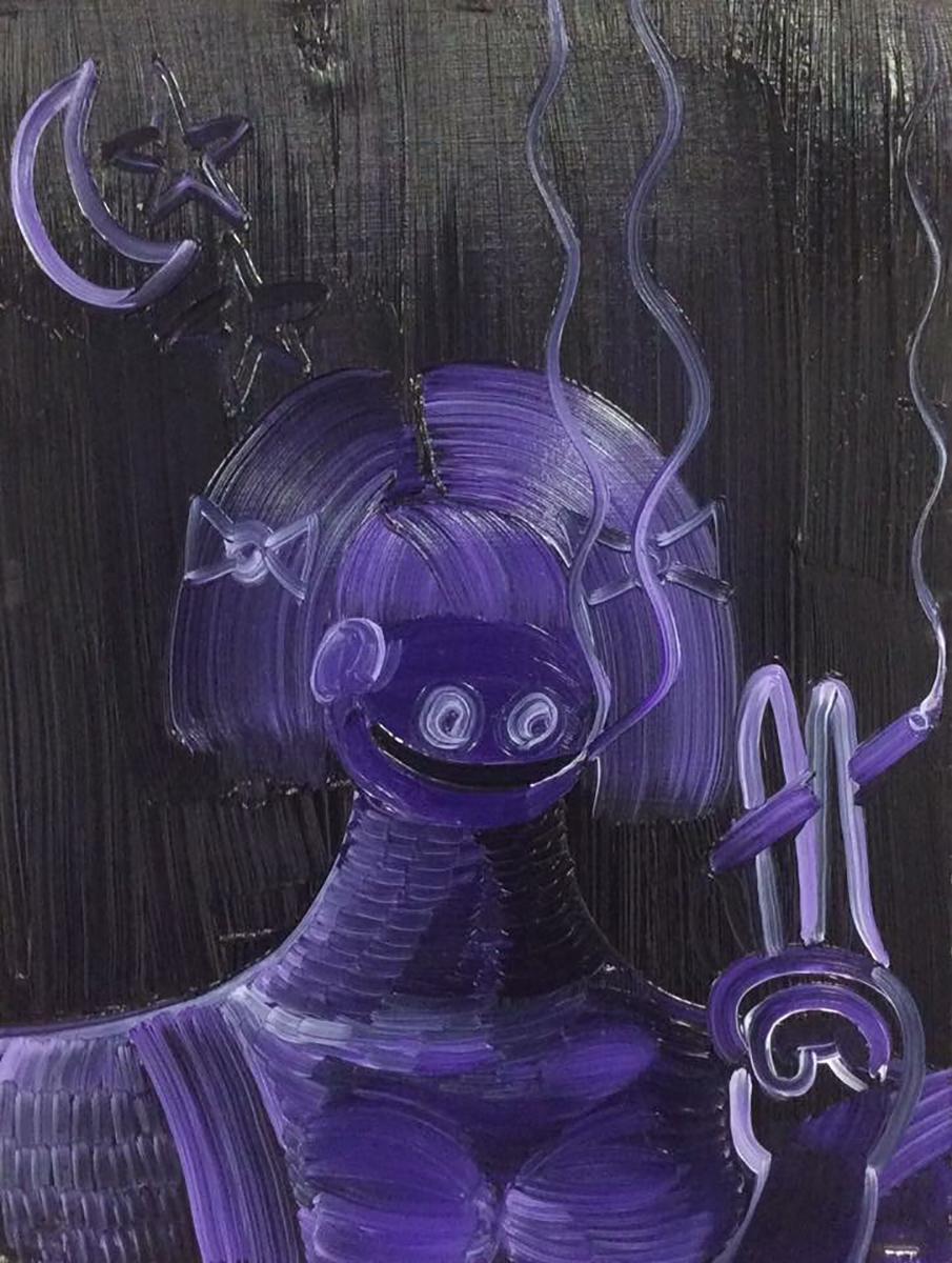 4.Purple Haze, 2017, oil on paper, 10 x 12 in new.jpg