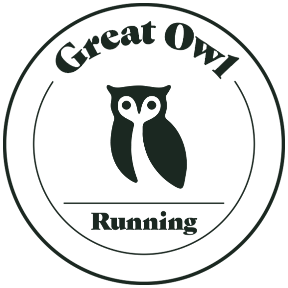 GREAT OWL RUNNING