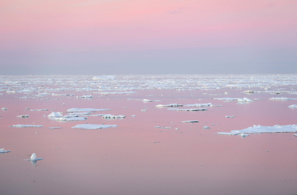 Sea Ice on the transit to Rothera station (by Peter Sheehan)