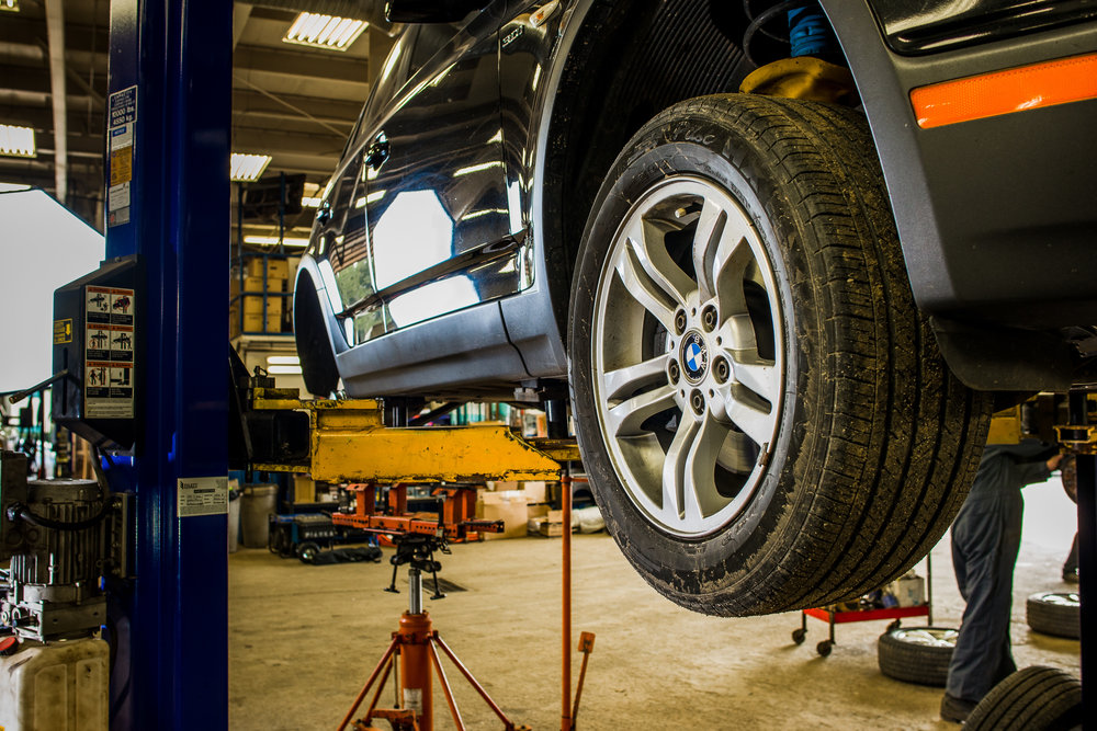 TIRE ROTATION - Rotating your tires from front to back, and side-to-side promotes even wear, and improves the useful life of your tires.