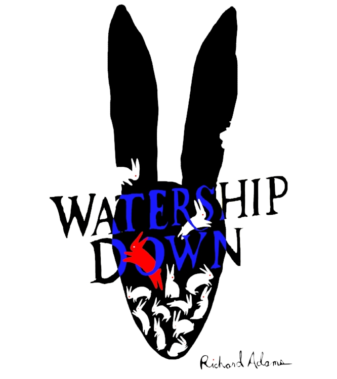Water Ship Down Book Cover/Poster