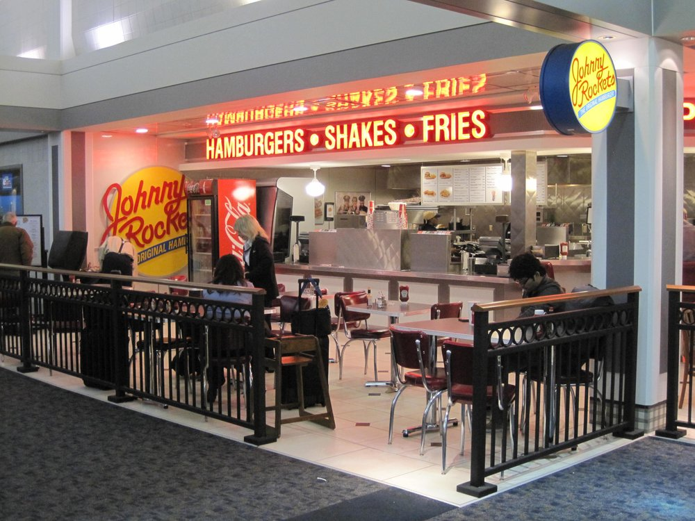 Johnny Rockets/Usinger's at General Mitchell International Airport