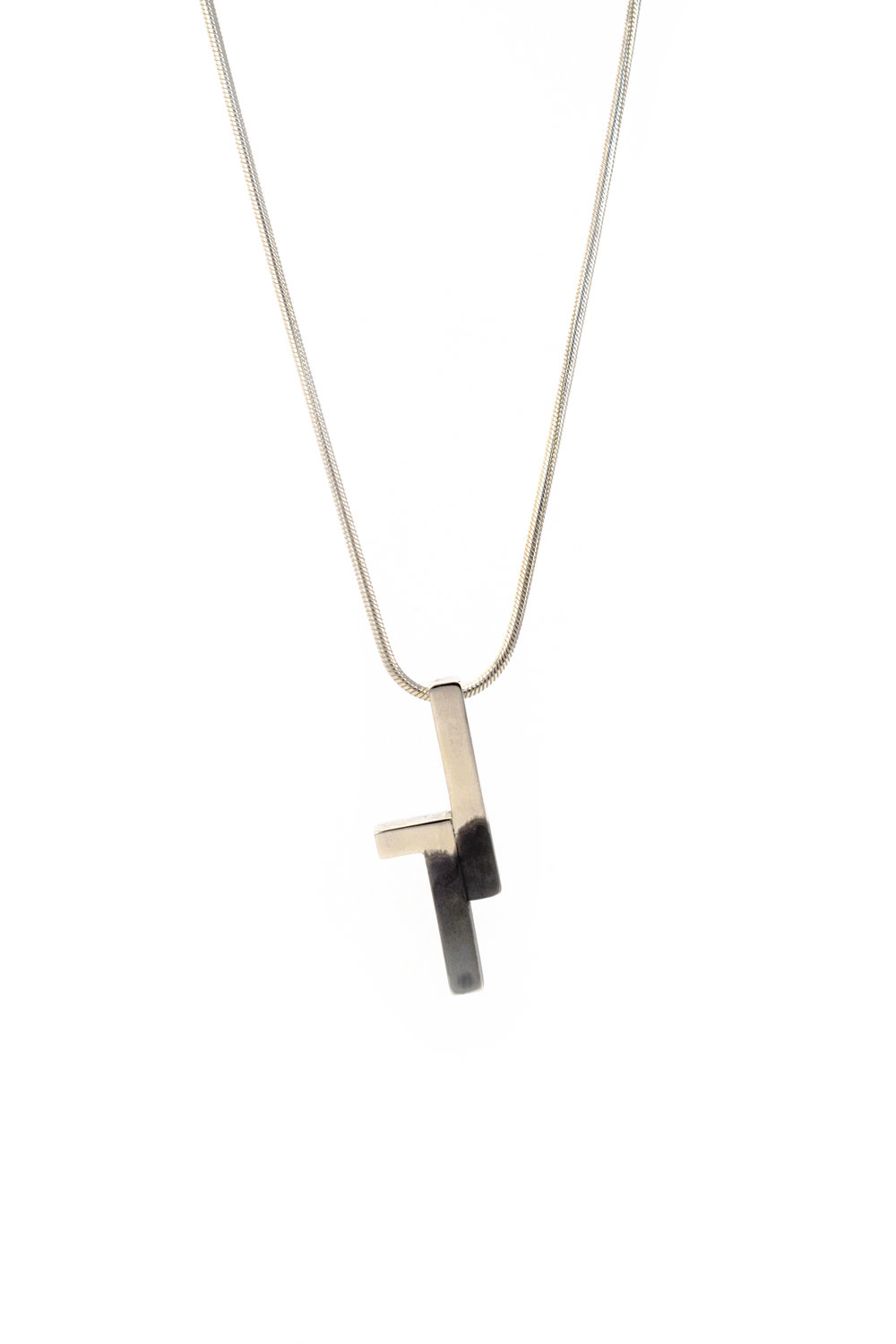 ONE Silver Necklace - 135€