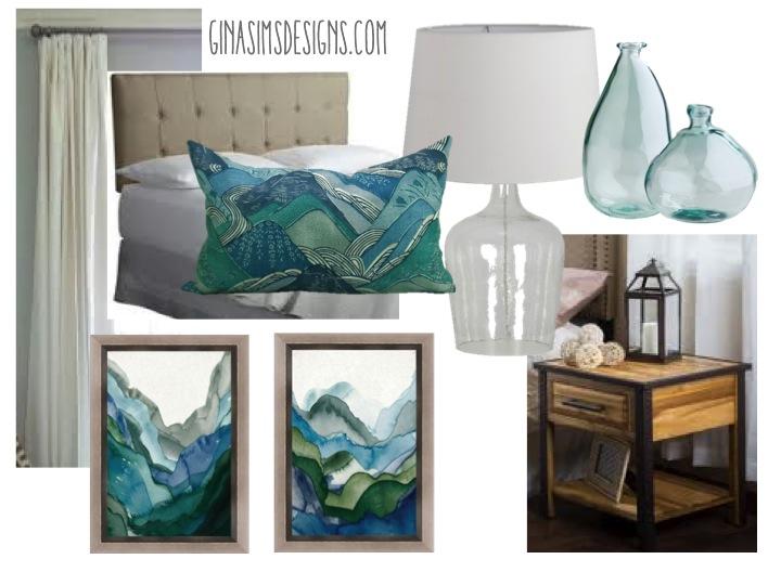 Bedroom Design Modern Blue