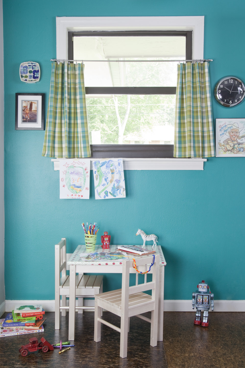 Quirky, Cute, Modern Kid Space