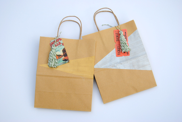 Color Blocked Bags