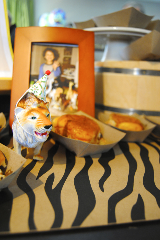 animals in party hats