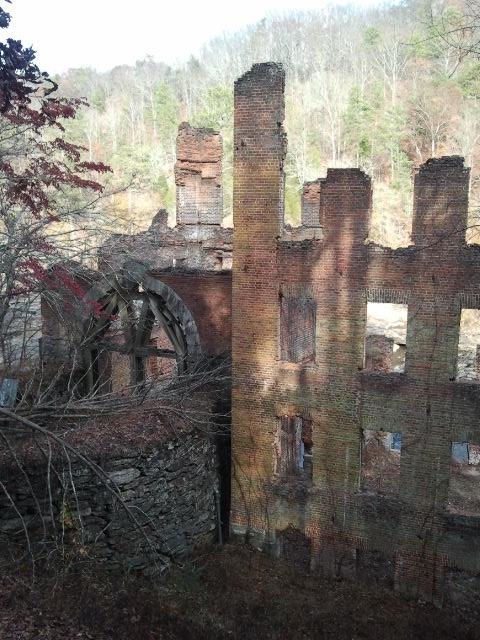 Rundown Mill at Sweetwater Creek
