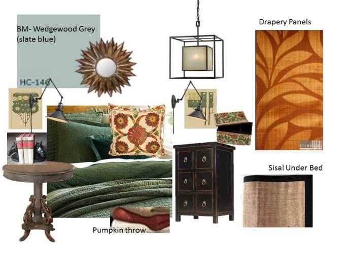 Mission Style Bedroom Design