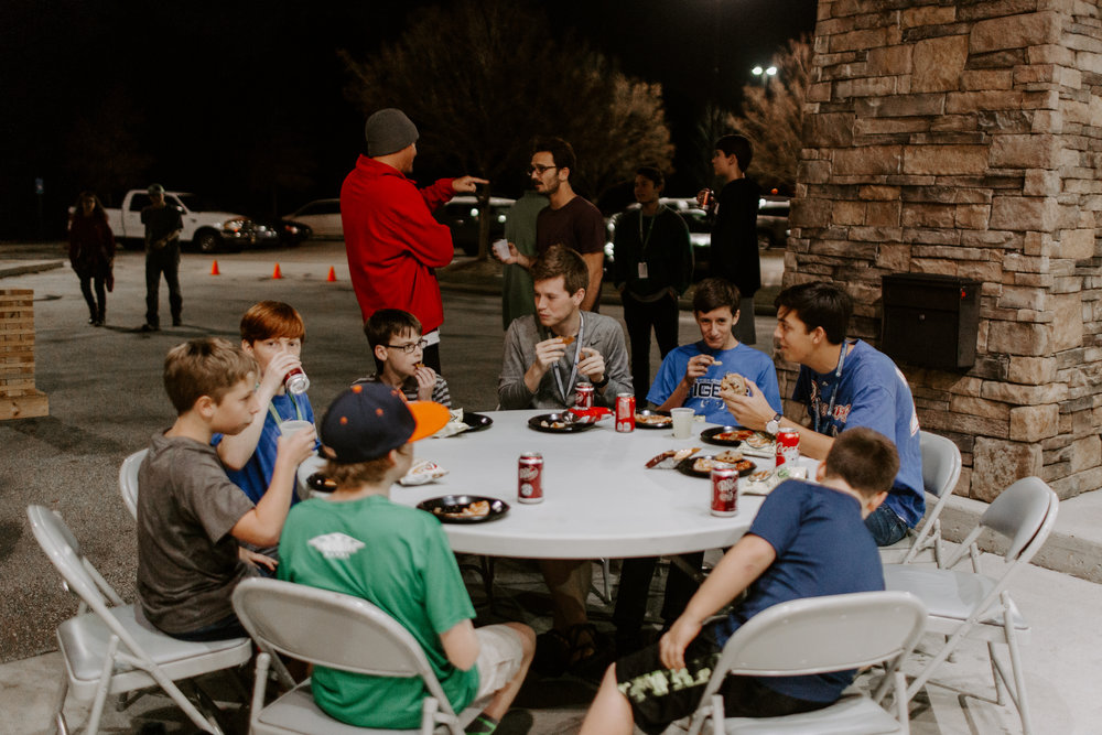 Cornerstone YOuth - CornerstoneYouth's mission is to lead people to know and serve Jesus through relational ministry. Our main program is on Sunday evenings during the school year from 5:30-7:30pm. We have a variety of other events that take place throughout the year! We have many different ways we need help in CornerstoneYouth! Take a moment to read through the roles below and if you find one that fits you, email Marcus Popenfoose, Youth Director, at marcus@cornerstonebuzz.org.
