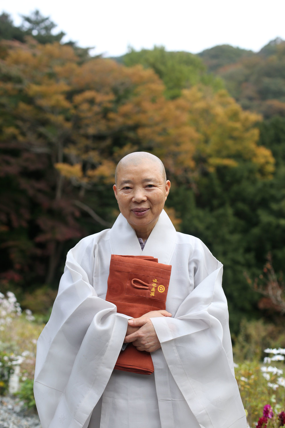 Chef's Table star and Buddhist nun, Jeong Kwan in South Korea.