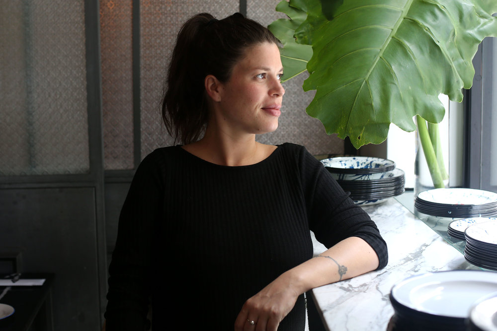Lucia Soria, owner and chef of Jacinto in Montevideo, Uruguay.