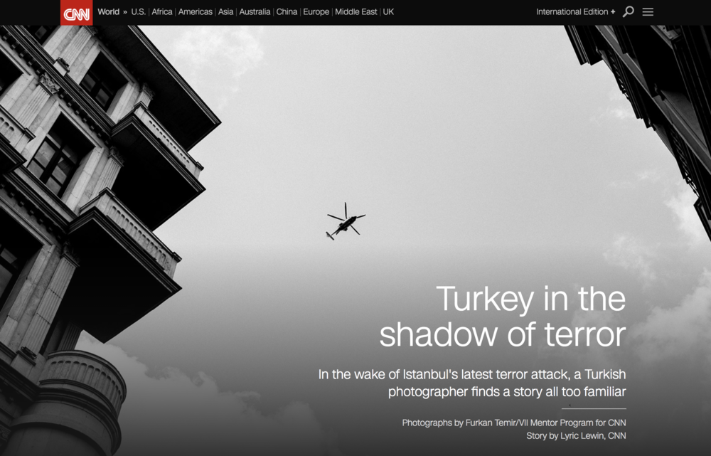 "When the media rushed to the scene of the  attack at Istanbul's Ataturk airport , photographer  Furkan Temir  took a moment to mentally prepare before going in.  Temir was born and raised in Turkey and has become all too familiar with these catastrophic scenes of violence. He has been photographing the aftermath of terrorist attacks since he was a teenager.  ""I feel the responsibility,"" said the 21-year-old. ""I would like to tell our story.""   Read more here"