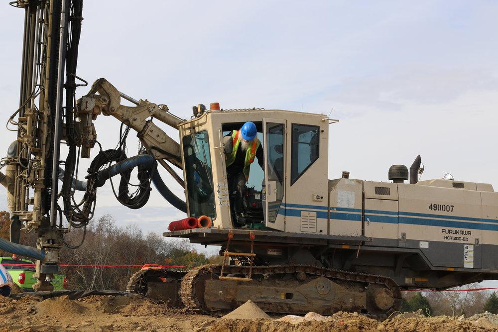 Furukawa drill rig