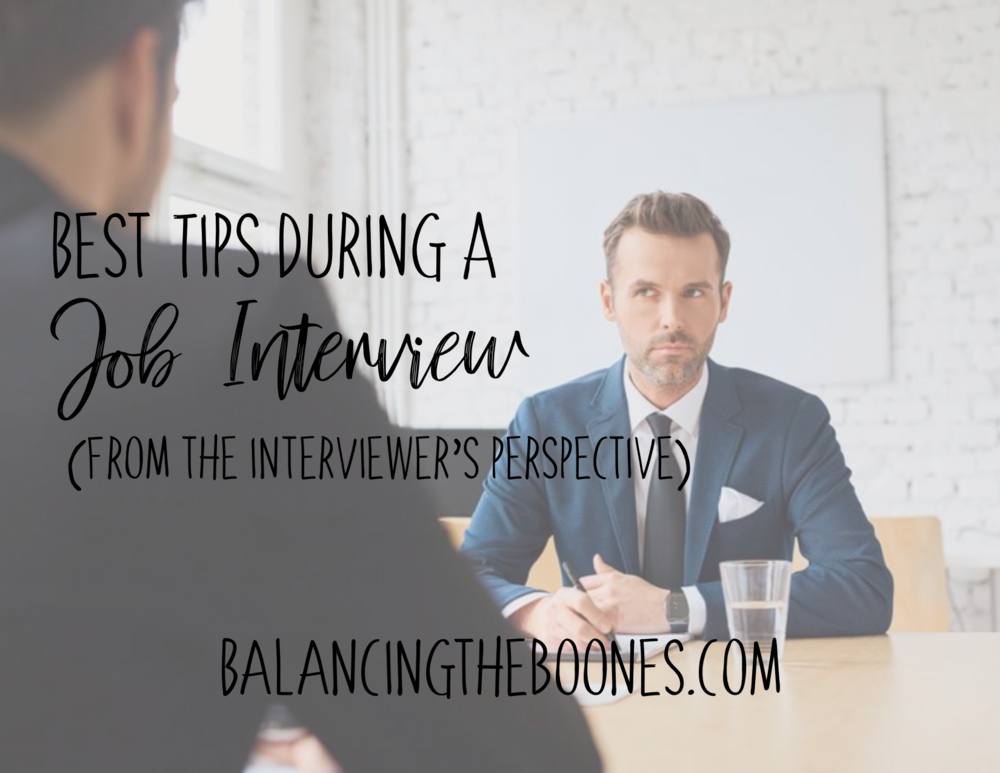 3aaad2817ebd Best Tips During A Job Interview (From The Interviewers Perspective ...