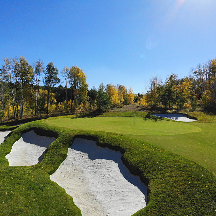 DESIGN & BUILD - Creating exceptional golf experiences through hands-on design and feature construction.