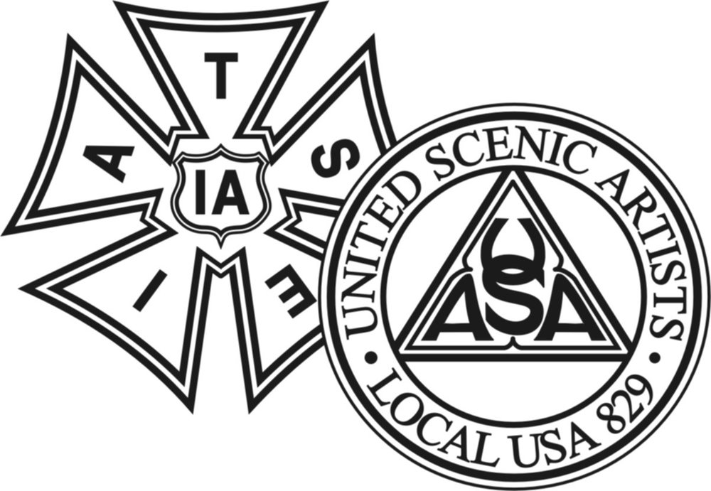 Member of United Scenic Artists, Local 829