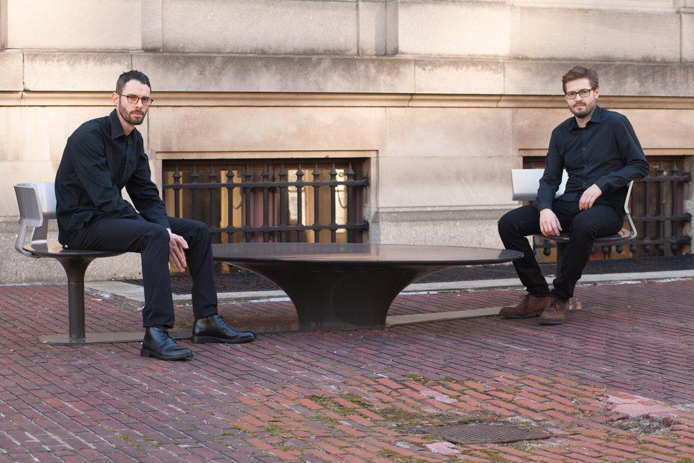 Landman/Stadler Saxophone Duo - NYC/Basel