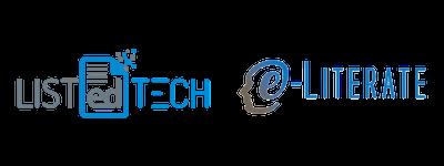 Listedtech & E-Literate Logos