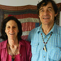 Ed Mayer  and  Susan Brown