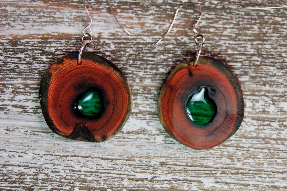 wood & resin  -