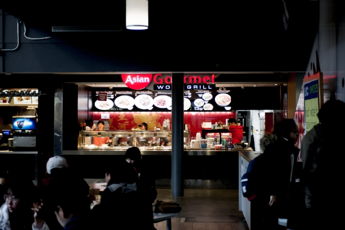 The usual lunch and dinner rush line's at Asian Gourmet seem to have disappeared. ALI JAVEED/THE UNDERGROUND