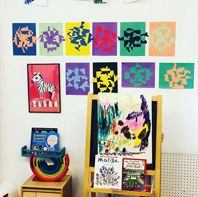 We explored negative space and Notan designs last week. Aren't they beautiful? #processart #kidsartwork #creativekids