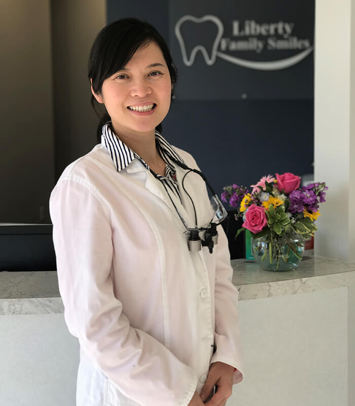 Dr. TingTing Wu - Dr. Wu grew up in Shandong, China, and received her bachelor's in environmental science before moving to the United States to pursue a career in healthcare. She chose dentistry not only because it is a blend of science and art, but most importantly it is about people. She earned her Doctor of Dental Medicine degree from the University of Kentucky School of Dentistry. Dr. Wu completed her General Practice Residency at the University of Kentucky Hospital and VA Medical Center in Lexington, Kentucky, and received advanced training in cosmetic dentistry, pediatric dentistry, sedation dentistry, and implant dentistry.