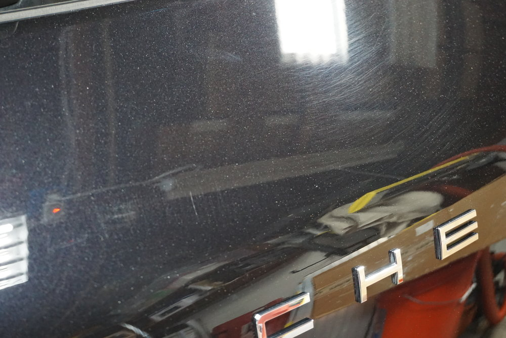 Rear Liftgate before
