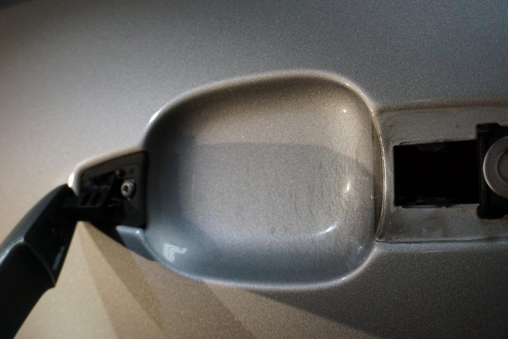 Door cup before