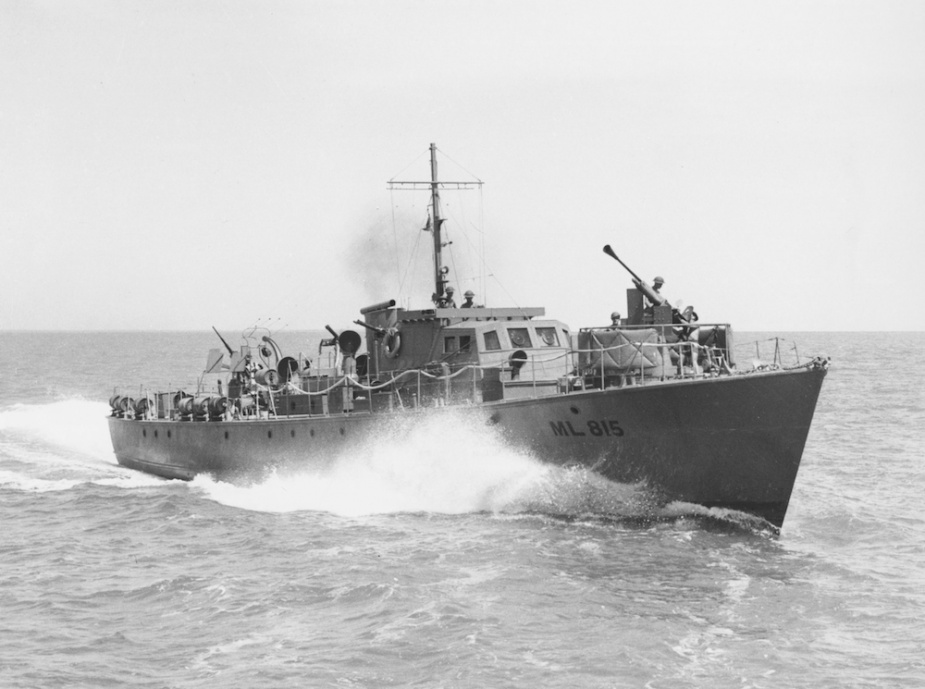 ML 815 which accompanied ML 814 on the mission to Timor.