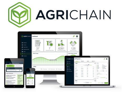 SILO BAGS AND AGRICHAIN - The most advanced app based grain storage, logistics and contracting system in the world.