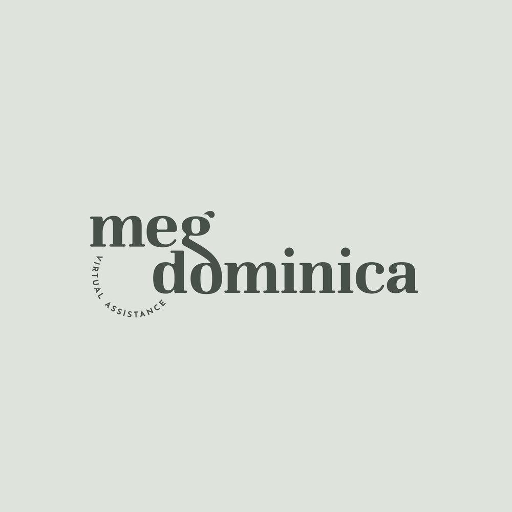 Meg Dominica - Logo Design