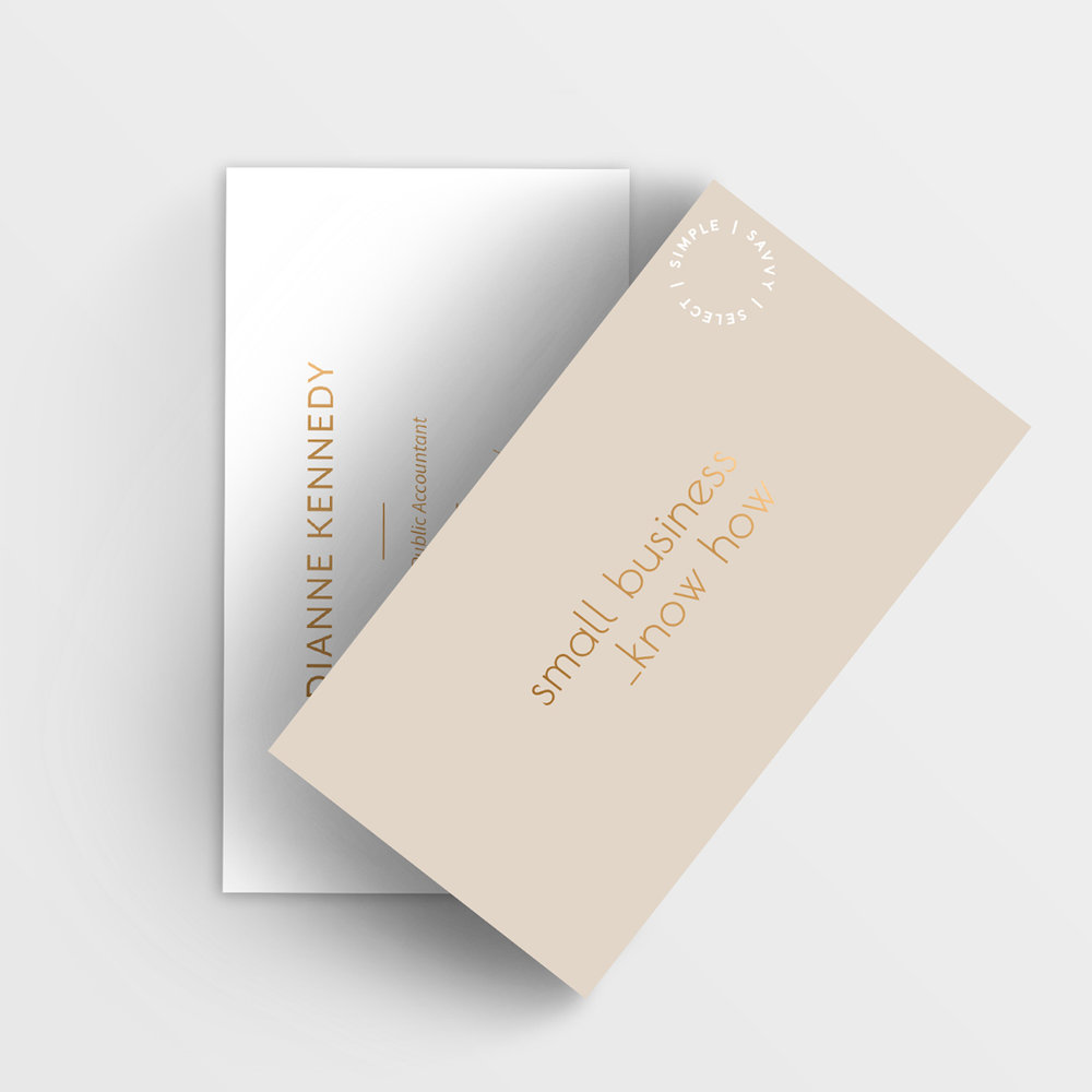 Small Business Know How - Brand Identity   Branded Collateral Design