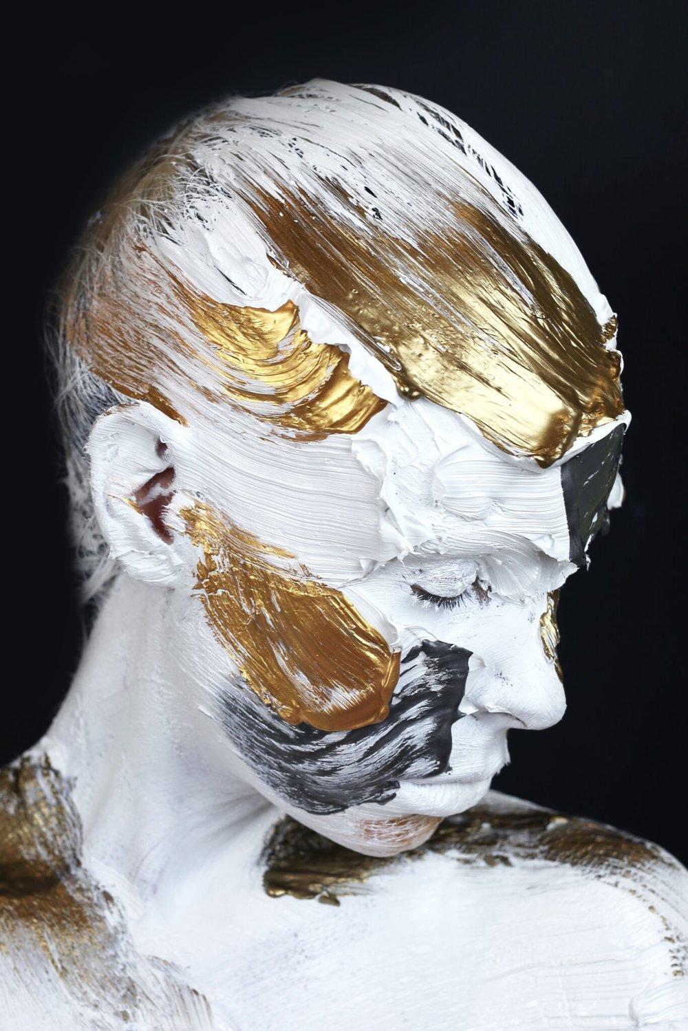 Monochrome Metallics - Black, Bronze, Gold & Steel #3