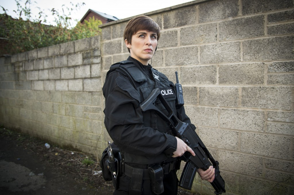 WARNING: Embargoed for publication until 18:00:01 on 08/11/2015 - Programme Name: Line of Duty - TX: n/a - Episode: n/a (No. n/a) - Picture Shows: ++PURE DRAMA++ ++Publication of this image is strictly embrgoed until 18.01 hours Sunday November 8th 2015+++ Detective Constable Kate Fleming (VICKY McCLURE) - (C) World Productions - Photographer: Steffan Hill