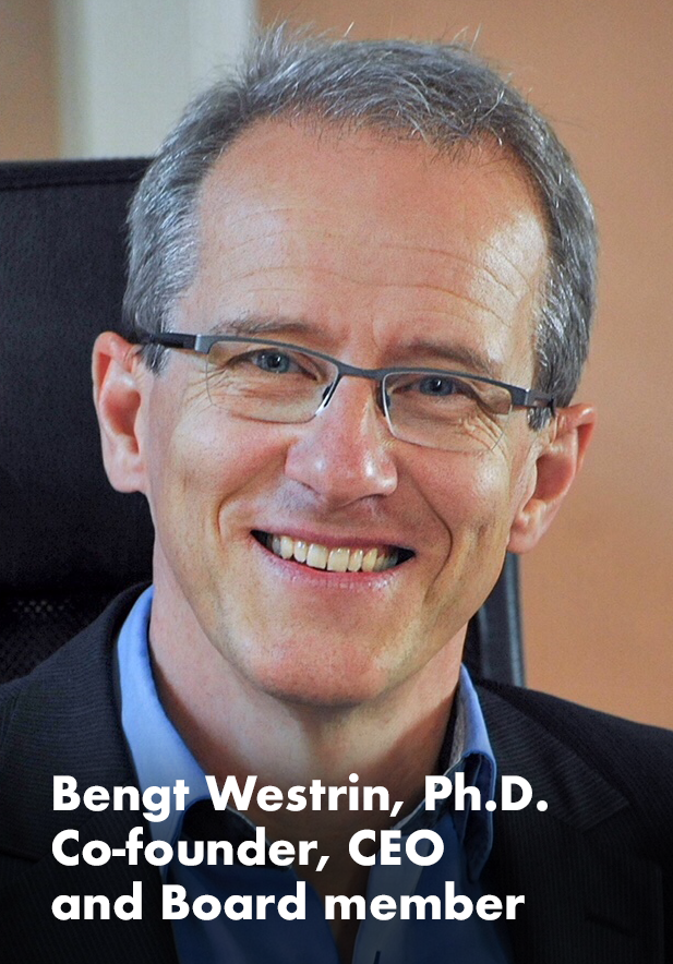 Bengt Westrin  has over 26 years industry experience,  spanning from startups to big pharma, from product  development & regulatory affairs to project management  & business development.  Prior to SWIPP he has been CEO of CombiGene AB (publ),  AcuCort AB (publ), Idogen AB (publ), Lipopeptide AB (Stockholm),  and VP Business Development of Camurus AB(publ).  He has also had numerous consultancy assignment for other public  or private companies.  He received his M.Sc. and his Ph.D. at the Faculty of Engineering at Lund University, where he is also Associate Professor since 1999.