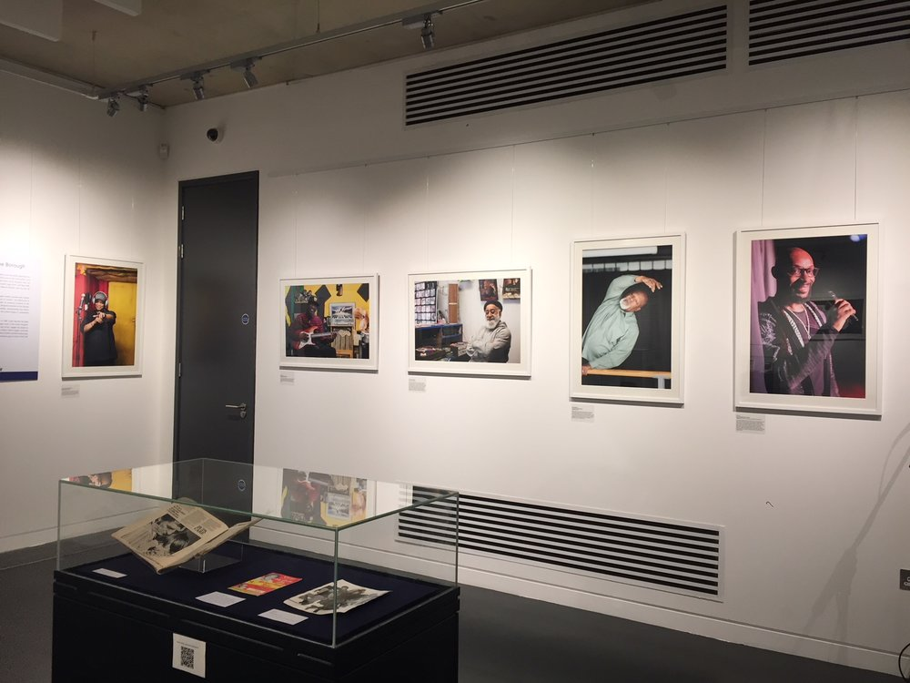 Brent's Pioneering Windrush Generation installation shot