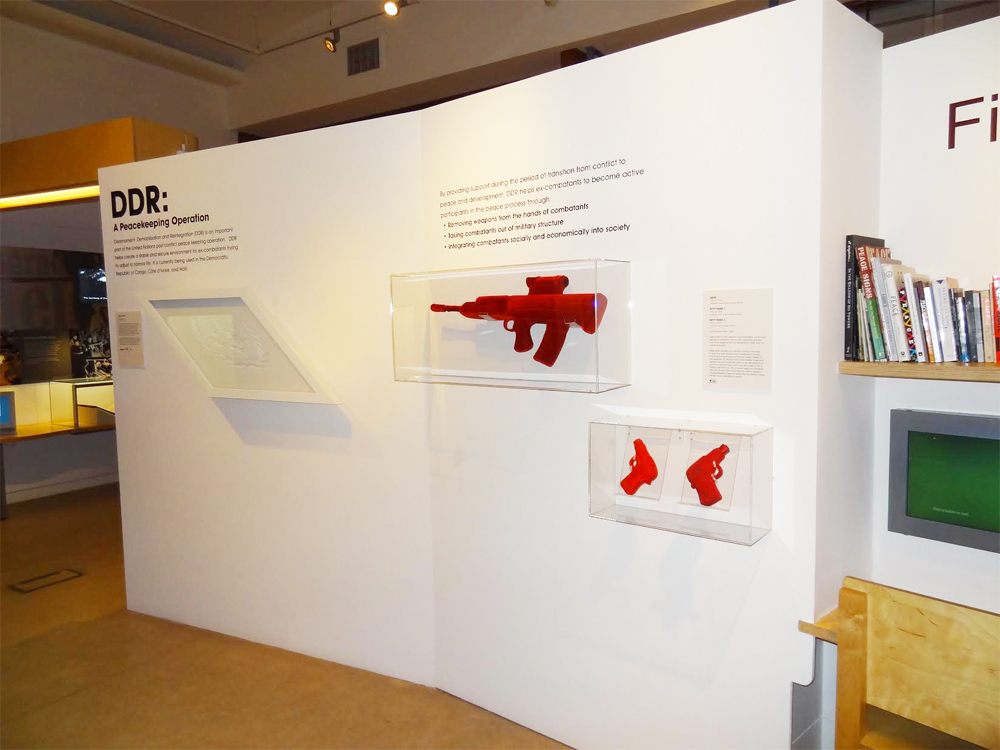 DDR: A Peacekeeping Operation installation shot