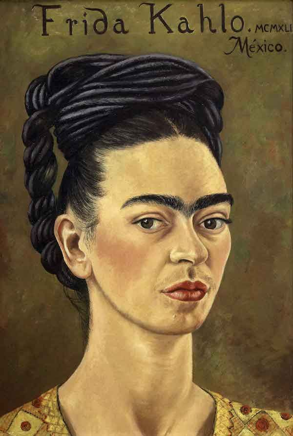 Self-portrait, Frida Kahlo, 1941
