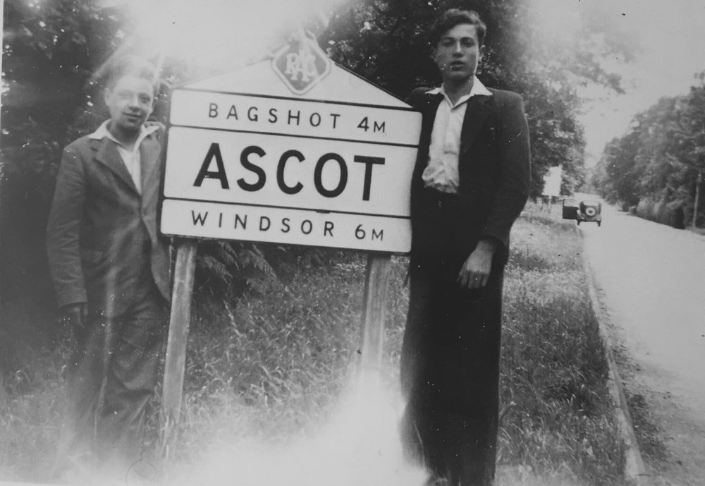Two of the boys who were cared for at Woodcote House, Ascot. Jacob Fersztand, from Kozience in Poland is on the left. Jacob survived forced labour, Buchenwald concentration camp and a death march. When the picture was taken in 1945 he was 15-years-old. The boy on the right is unknown. Photo: Jacob Fersztand.