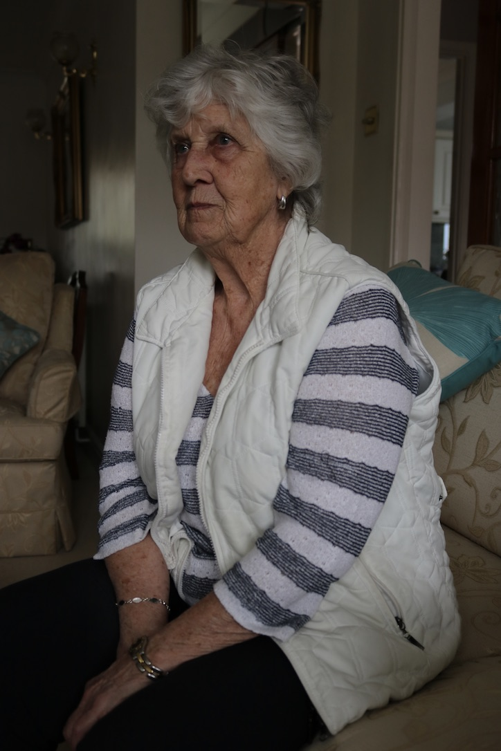 Margaret Nutley at home in Sunningdale. Photo: Rachel Judah.